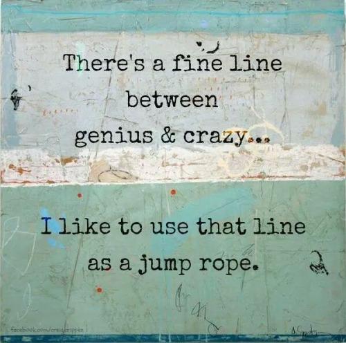 crazy genius line