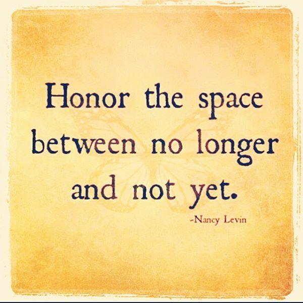 no longer not yet